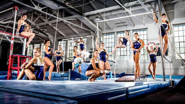 Team / Group Portrait / Photo / Picture Idea - Gymnastics / Gymnasts