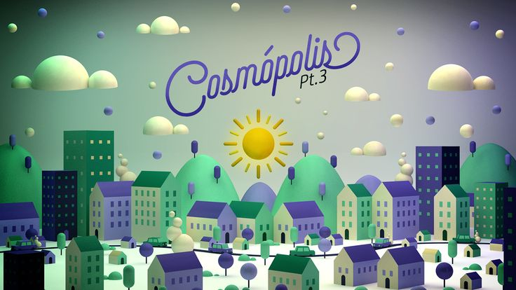 Cosmópolis Pt. 3 on Behance