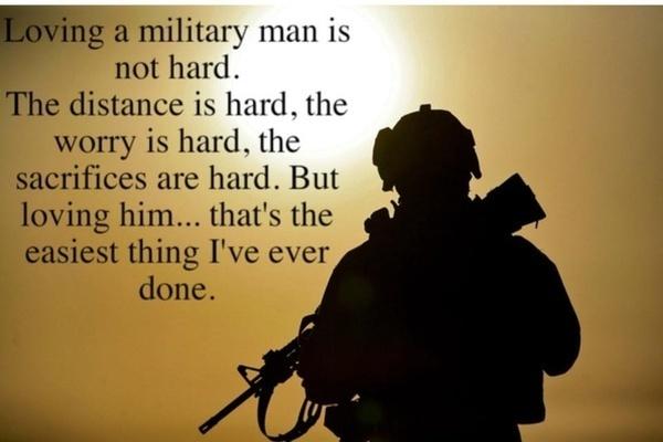 I love my sexy military man!