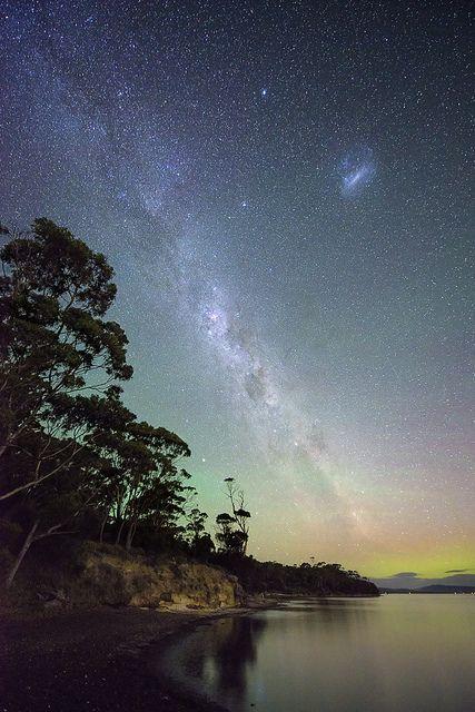 Milky Way + Aurora Australis...