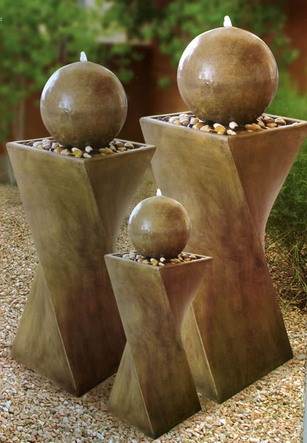 100 Outdoor Fountain Ideas and Images | Furniturefashion