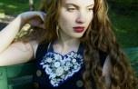 Spiritfire Designs sustainable fashion Statement Lace Necklace