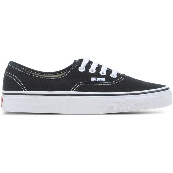 Vans Low-Tops & Trainers ($91) ❤ liked on Polyvore featuring shoes, sneakers, black, kohl shoes, vans footwear, black low tops, low tops and vans shoes