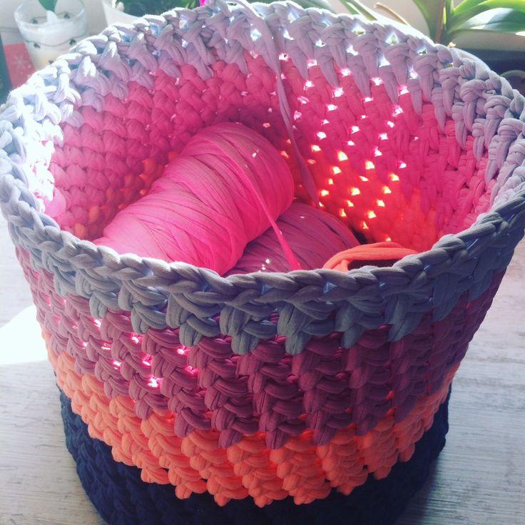 Storage basket in process!