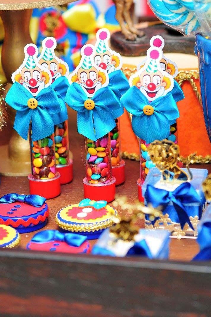Personalizados Festa Circo Vintage