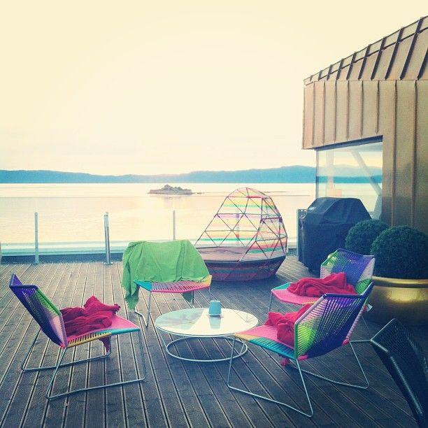 Terrace - Clarion Hotel & Congress Trondheim - Instagram photo by @kigland (Kine-Marte Igland)