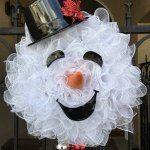 Snowman wreath ideas – how to make a gorgeous Christmas wreath