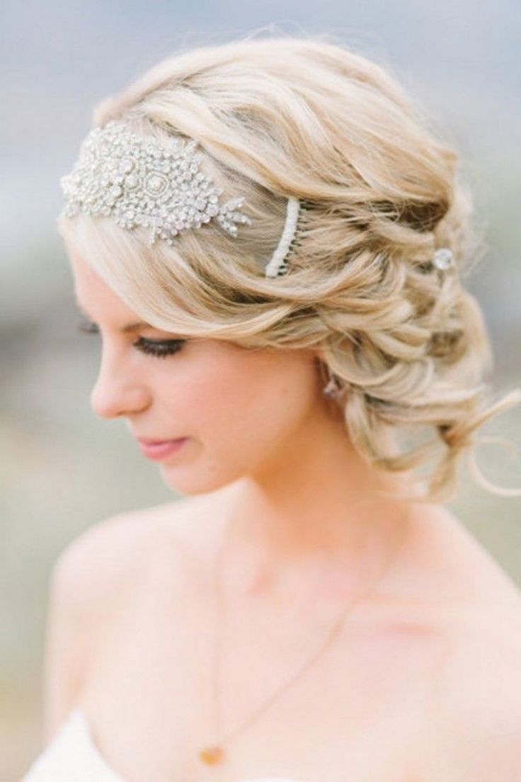 50 Fabulous Bridal Hairstyles For Short Hair Short