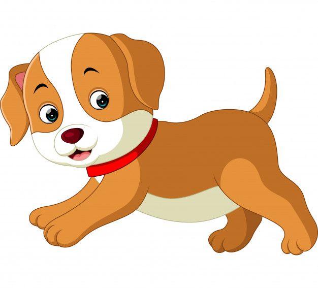 Lindo Perro De Dibujos Animados Vector Premium Free Vector Freepik Vector Freeinvitacion Fr Perro De Dibujos Animados Un Perro Animado Gato En Caricatura