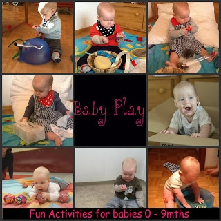 Activities for babies 0 - 9mths