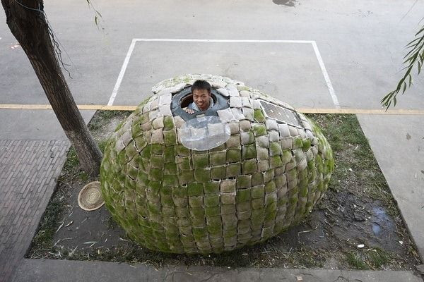 This guy's house cost slightly more to build and ship than one month's rent for my house.: Tiny House, Eggs, Beijing China, Apartment, Architecture Student