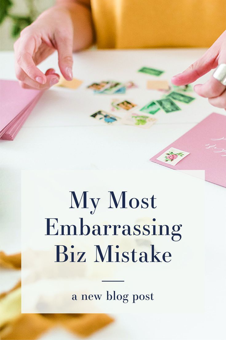 My Most Embarrassing Stationery Business Mistake Mail Wedding Invitations Wedding Invitations Invitations