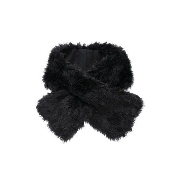 Black faux fur scarf (335 UAH) ❤ liked on Polyvore featuring accessories, scarves, fur, echarpe, jackets, women's accessories, short scarves, faux fur shawl, faux fur scarves and fake fur scarves