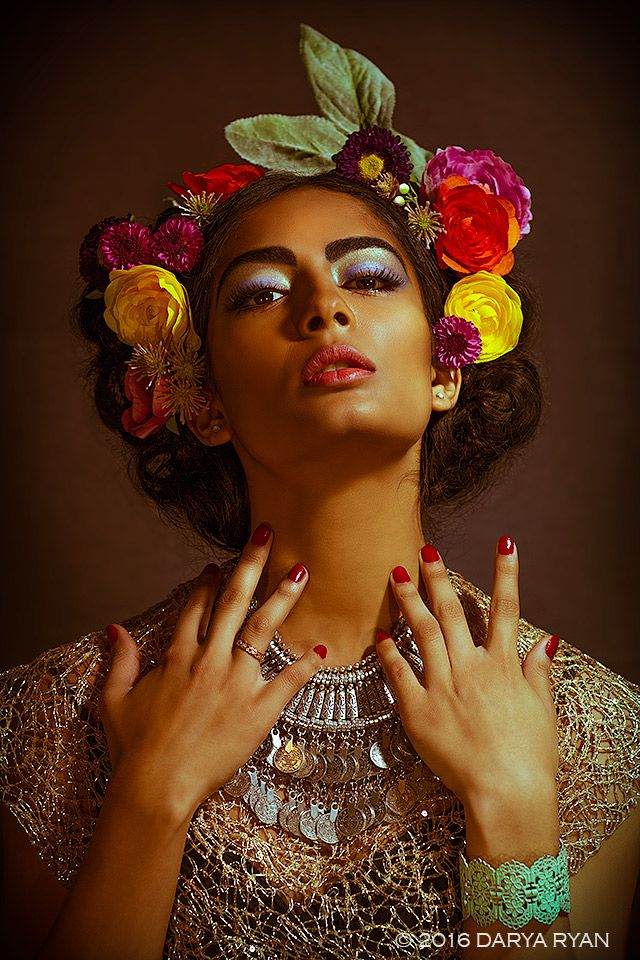 The one and only Frida Kahlo: inspired shoot.
