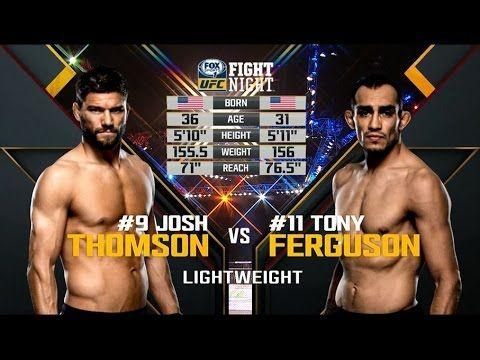 UFC 209 Free Fight: Tony Ferguson vs Josh Thomson
