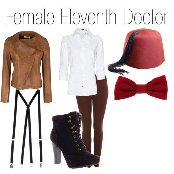 """Female Eleventh Doctor"" by nearlysamantha on Polyvore"