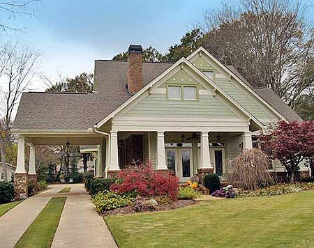25 best ideas about bungalow house plans on pinterest for Detached garage pool house
