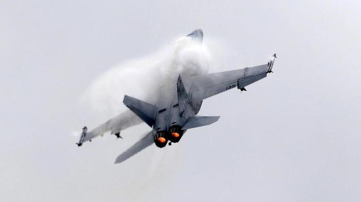 Farnborough Airshow: Kalte Krieger am Himmel über England