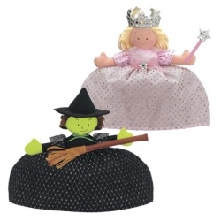 Good Witch/Bad Witch Topsy Turvy Doll from North American Bear