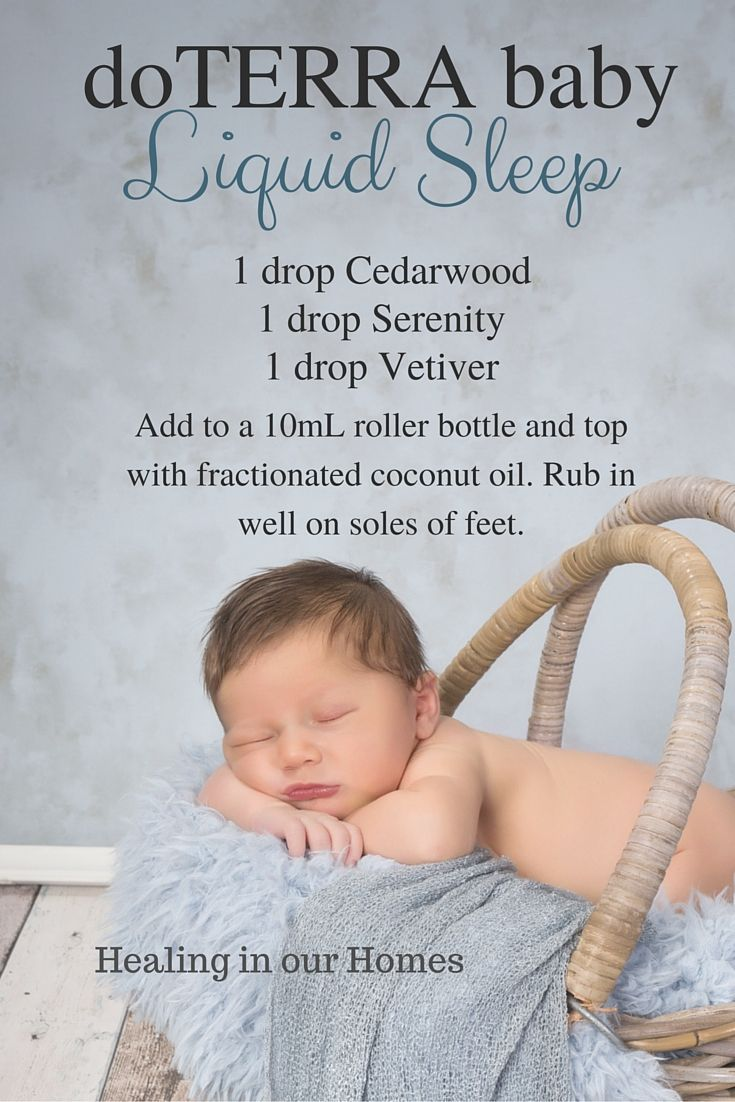 Help your tiny one fall asleep peacefully with this doTERRA baby blend .