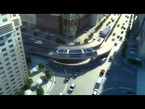 This is a new concept from the Chinese to combat heavy traffic, this concept allows for easy flow of traffic and faster public transport. this concept can be...