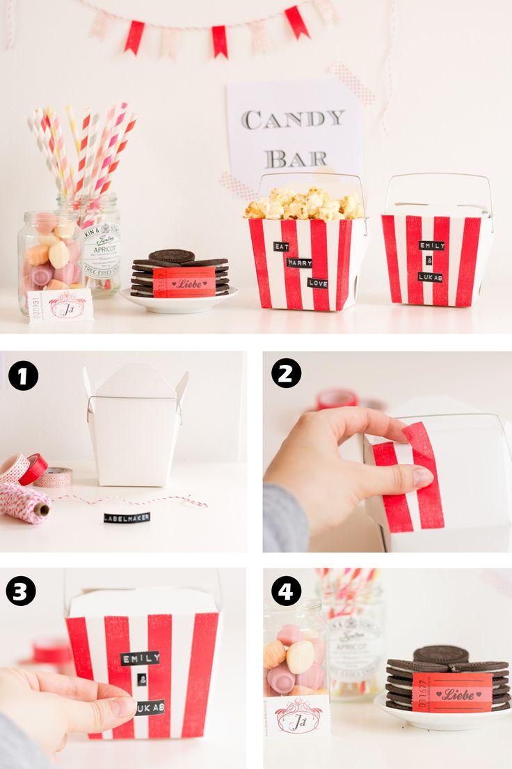 Candy Bar selber machen von The Little Wedding Corner