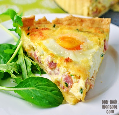 it takes sooo many eggs.Awesome Food, Shortcrust Pastries, Hams Eggs, Eggs Quiches, Ooh, Food Processor, Delicious Eating, Homemade Shortcrust, In The