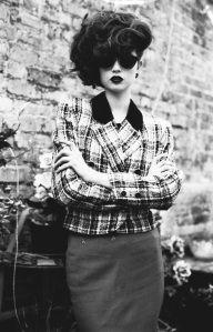 black and white hair fashion