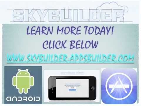 Discover Skybuilder by Greg Jacobs - mobile app building software