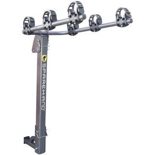 "SpareHand ""Elevation VR-701"" Hitch Mount 3 Bike Carrier / Rack -- for both 2"" & 1-1/4"" hitch receivers 