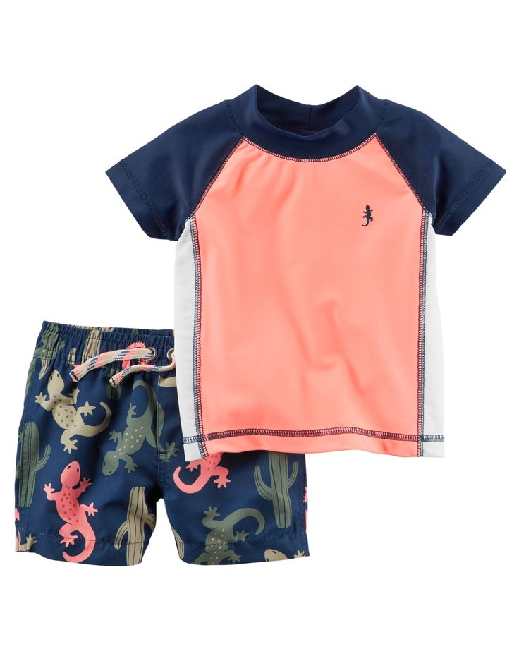 Baby Boy Carter's 2-Piece Rashguard Set | Carters.com