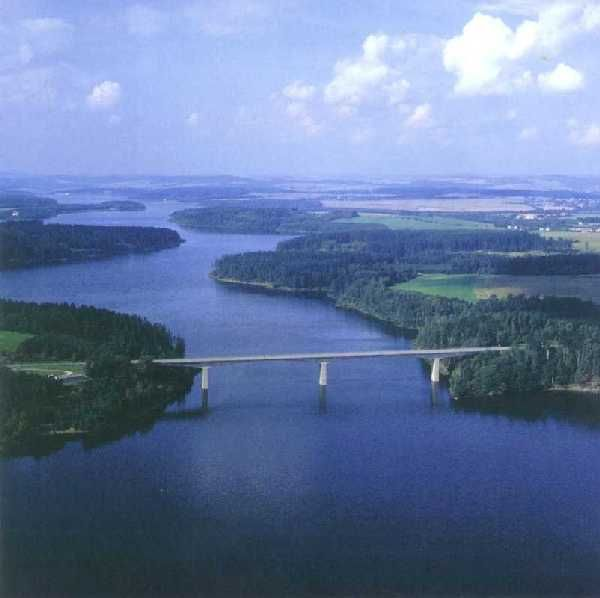 Želivka dam (Central Bohemia), Czechia