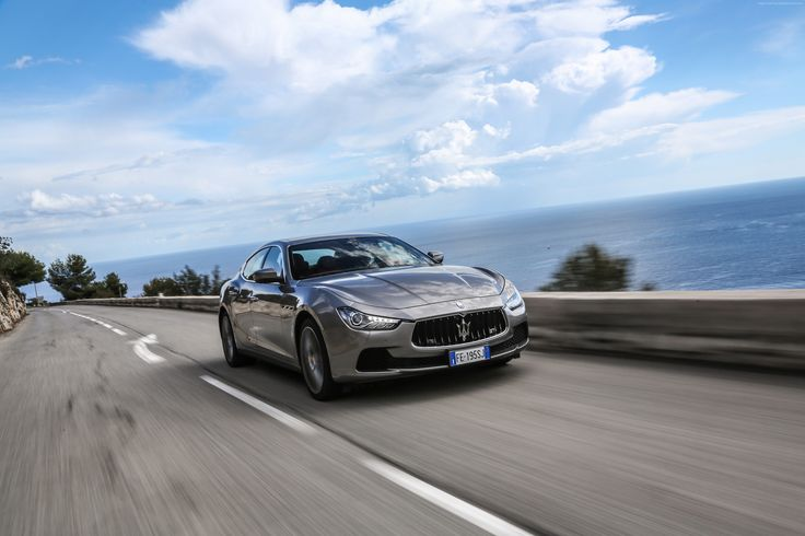 nice Maserati ghibli with beautiful background 4k wallpaper