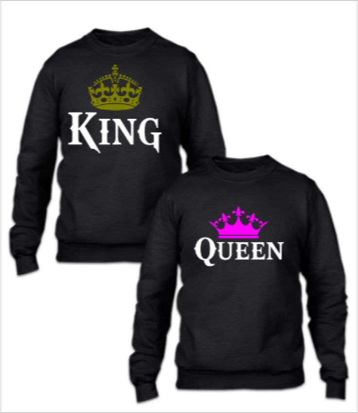 king and queen couple couple sweatshirt couple hoodies. Black Bedroom Furniture Sets. Home Design Ideas