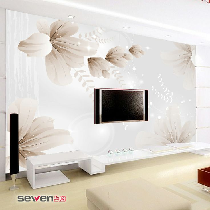 3D PVC Personality Mural Wallpaper Tv Wall Bedroom