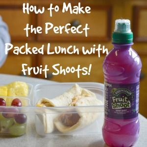 How to Make the Perfect Packed Lunch with Fruit Shoot! #fruitshoot #fuelyourimaginiation - Craft Dictator