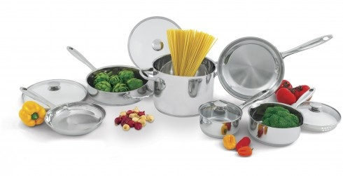 Wolfgang Puck Giveaway - 10 piece cookware set and a variety of pasta sauces!
