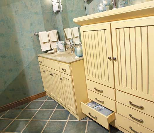 68 Best Images About Bathrooms On Pinterest Cherries Off White Cabinets An