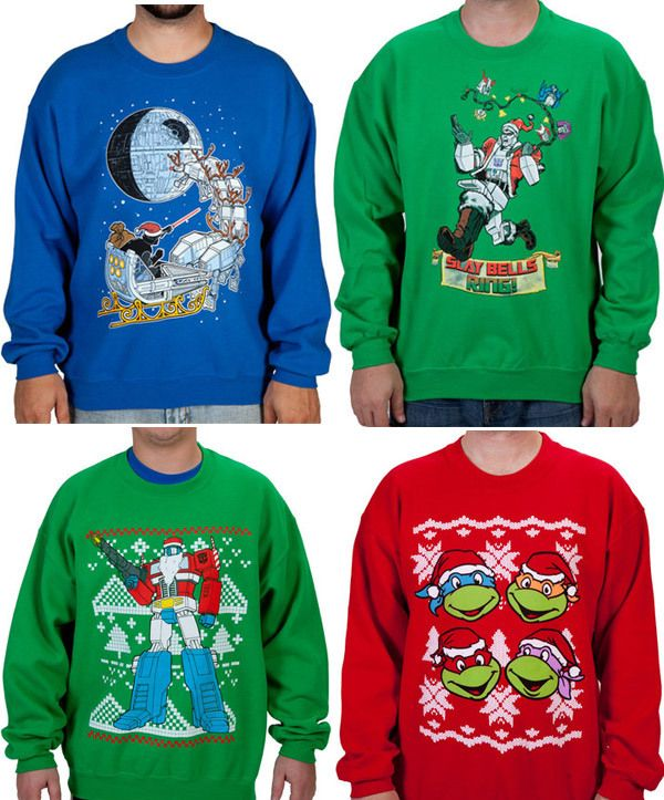 fantastically geeky christmas sweaters for the geek in. Black Bedroom Furniture Sets. Home Design Ideas