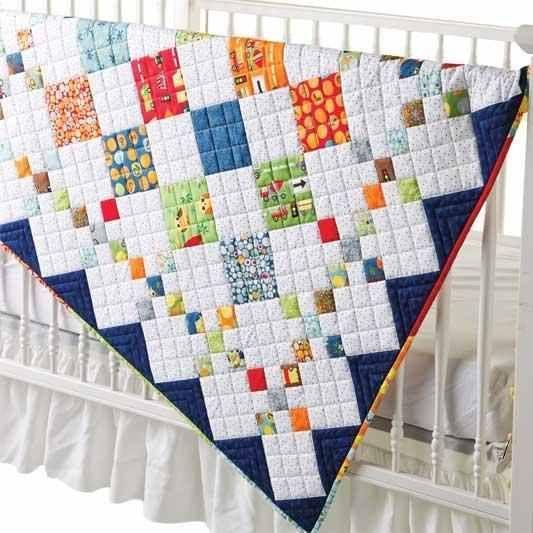 Diamond Patch Quilt Pattern