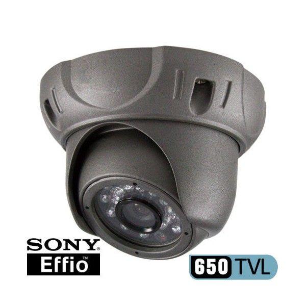 Camara de vigilancia domo para interior o exterior 650TVL DSP Sony© Effio-E, con visión nocturna y alcance de 20m   Puede visitar nuestra pagina web sin ningún tipo de compromiso www.securmax.es o visítenos en nuestra tienda C/Literato Azorín nº 42 Bajo (Valencia).
