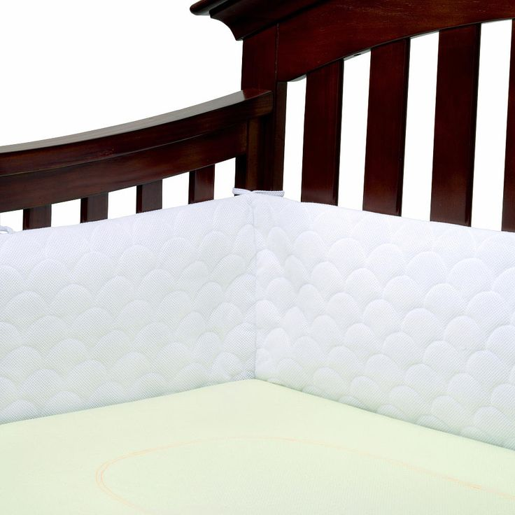 "Ubimed Lifenest Breathable Padded Mesh Crib Bumper - White - Ubimed - Babies ""R"" Us"