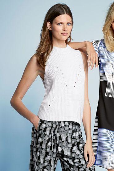Buy Next Sleeveless Sweater   Shop Tops Womenswear at the BrandStore EziBuy NZ