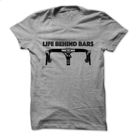 Life behind bars - Bicycle - #tee cup #red sweater. GET YOURS => https://www.sunfrog.com/LifeStyle/Life-behind-bars--Bicycle-76516085-Guys.html?68278