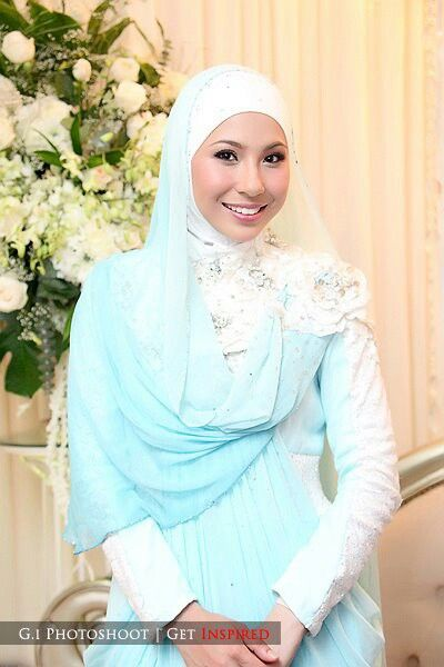 Beautiful irma hasmie #syar'i #hijab #bride