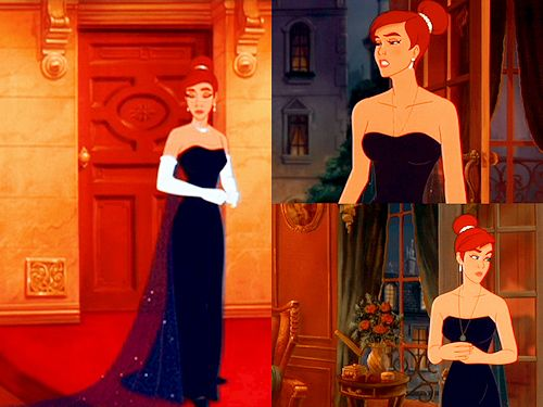 always wanted a dress like Anastasias opera dress in the cartoon movie