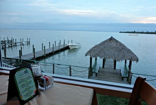 You can't beat the water views at The Green Flash, Captiva restaurants!