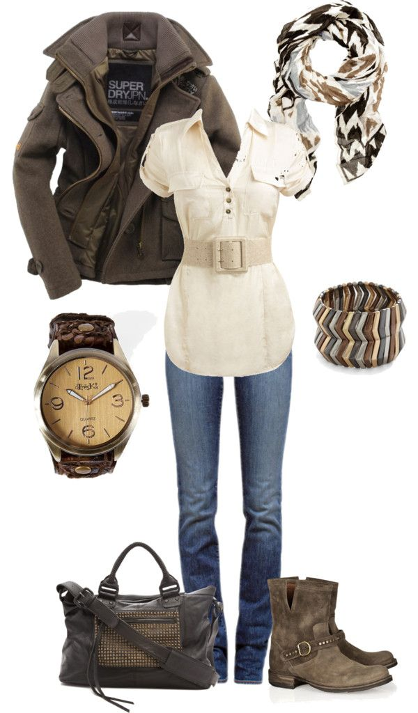 Ready for Fall: Casual Style, Fall Jackets For Women, Fall Style, Dreams Closet, Fall Wint, Fall Outfits, Motorcycles Outfits For Women, Fall Weather, Outfits With Boots Polyvore