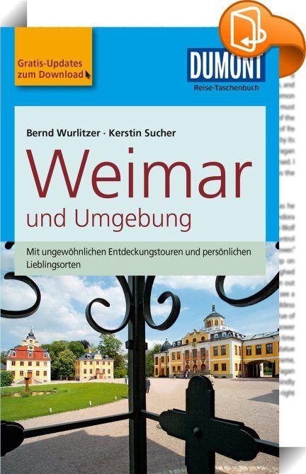 DuMont Reise-Taschenbuch Reiseführer Weimar und Umgebung    :  DuMont Reise-Taschenbuch E-Books sind besonders praktisch für unterwegs und sparen Gewicht im Reisegepäck. Einfach auf's Smartphone, Tablet oder den E-Book Reader laden und viele Zusatzfunktionen nutzen:  - Einfaches Navigieren im Text durch Links - Karten und Grafiken zusätzlich als Download im Web erhältlich - Offline-Karten (ohne Roaming) - Zoomen in Karten und Bilder - Weblinks führen direkt zu den Websites der Tipps - ...