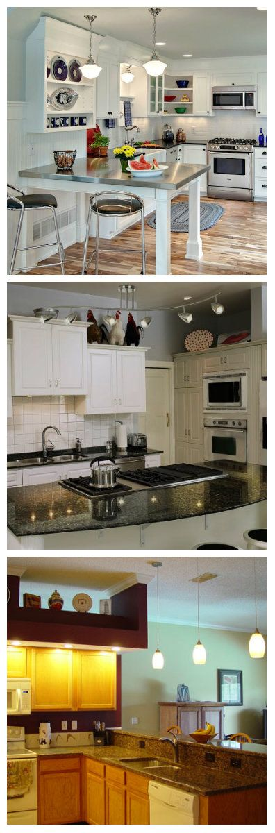 Кухня не обязательно должна быть большой, для того чтобы быть удобной. Продуманный дизайн и правильное освещение маленькой кухни, может сделать ее весьма комфортной и уютной. Один из хитрых способов сделать небольшую кухню просторней - разместить зеркальное стекло на двери шкафа и правильно подсветить его светодиодными огнями. Зеркальные двери шкафа создают иллюзию большого пространства. Использование стекла на кухне так же может визуально увеличить ее размер.